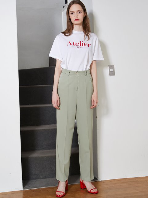 MINT WIDE PANTS